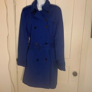 Kenneth Cole New York Womens Large Trench Coat